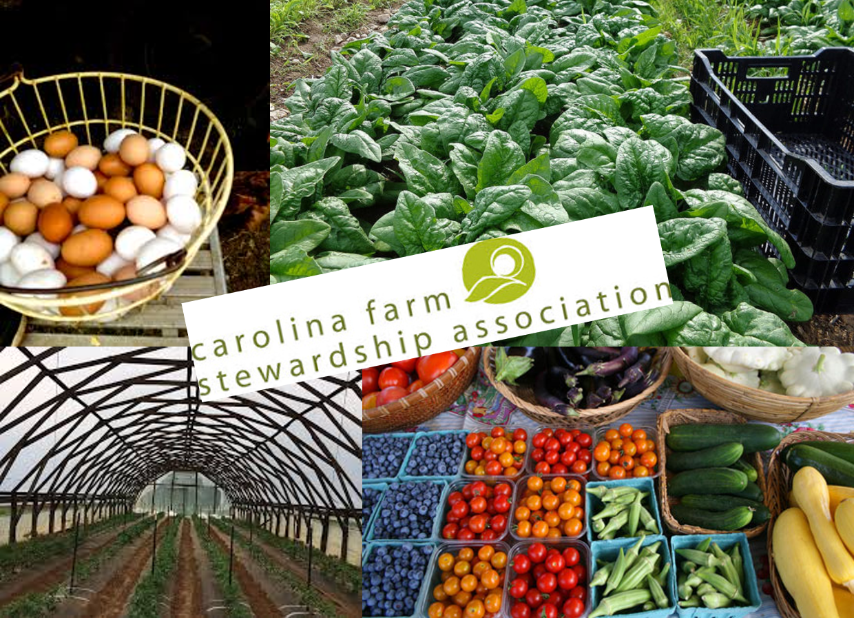 October 16 — All about Carolina Farm Stewardship Association